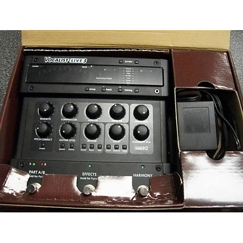 Digitech Vocalist Live 3 Harmony Pitch Correction Vocal Processor-thumbnail