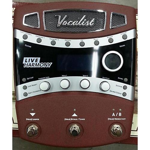 Digitech Vocalist Live Harmony Effect Pedal