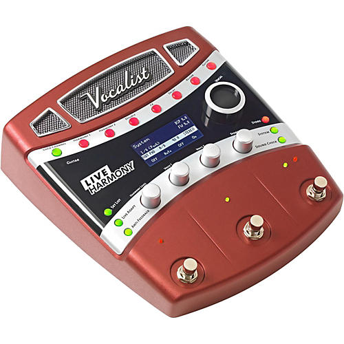 Digitech Vocalist Live Harmony Guitar Effects Processor Pedal-thumbnail