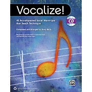 Alfred Vocalize!  (Book/CD)