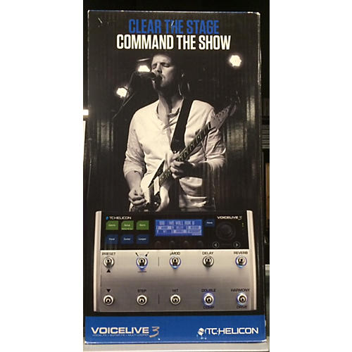 TC Helicon VoiceLive 3 Effect Processor