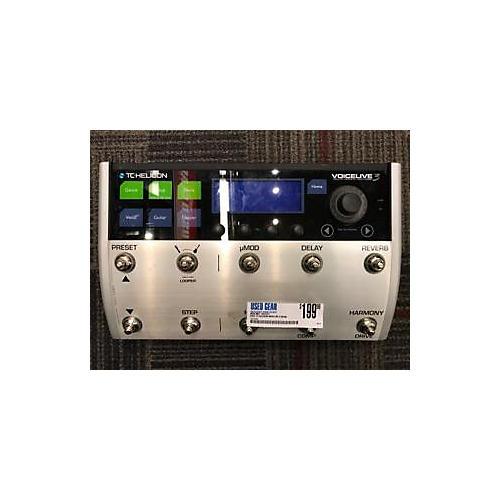 used tc helicon voicelive 3 pedal guitar center. Black Bedroom Furniture Sets. Home Design Ideas