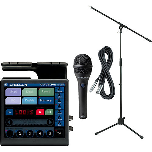 TC Helicon VoiceLive Touch with MP-75 Mic-thumbnail