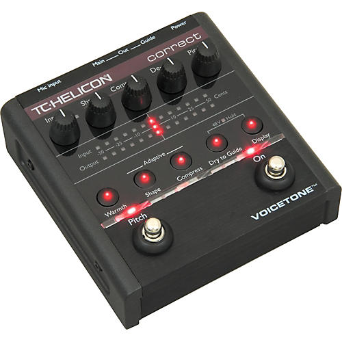 TC Helicon VoiceTone Correct Vocal Pedal