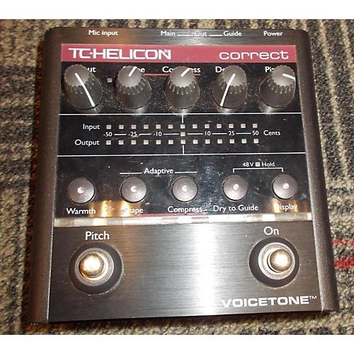 TC Helicon VoiceTone Correct Vocal Processor-thumbnail