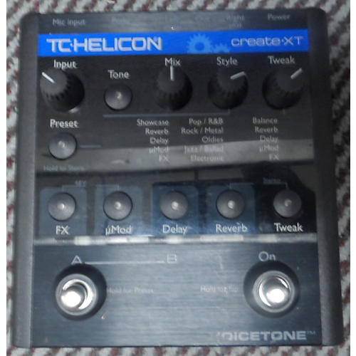 TC Helicon VoiceTone Create Vocal Processor-thumbnail