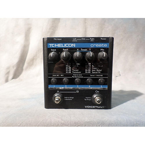 TC Helicon VoiceTone Create Vocal Processor-thumbnail