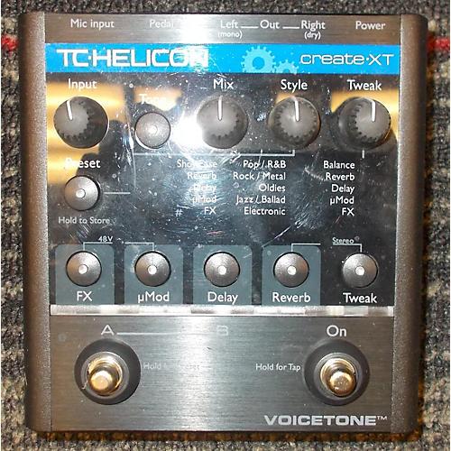 TC Helicon VoiceTone Create XT Vocal Processor