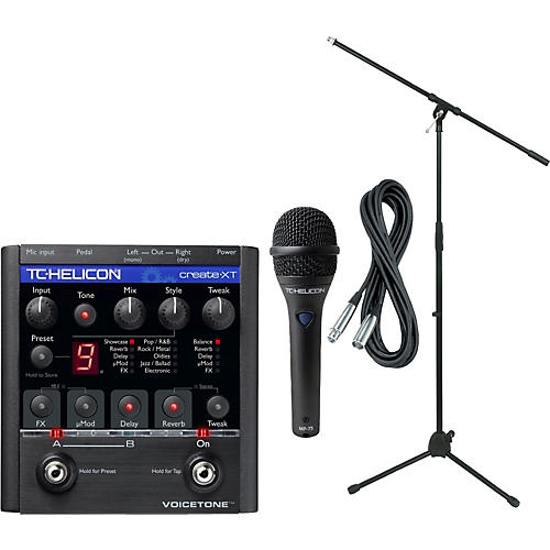 TC Helicon VoiceTone Create XT with MP-75 Mic-thumbnail