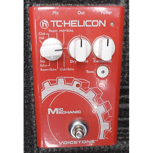 TC Helicon VoiceTone Mic Mechanic Effect Pedal