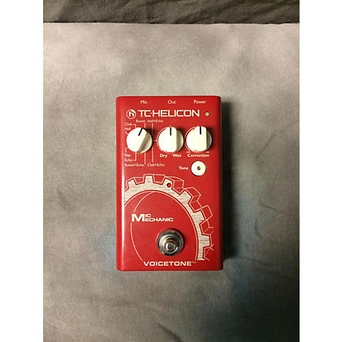 TC Helicon VoiceTone Mic Mechanic Vocal Processor-thumbnail