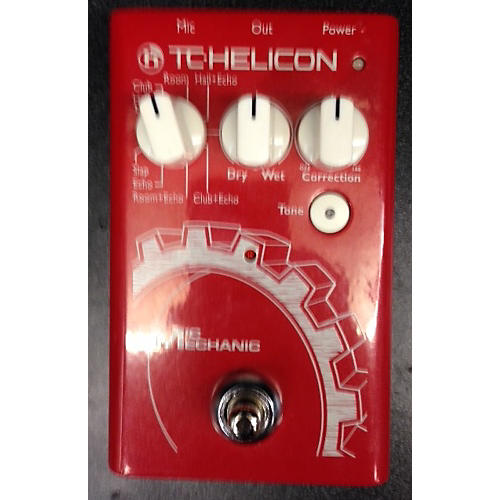 TC Helicon VoiceTone Mic Mechanic Vocal Processor