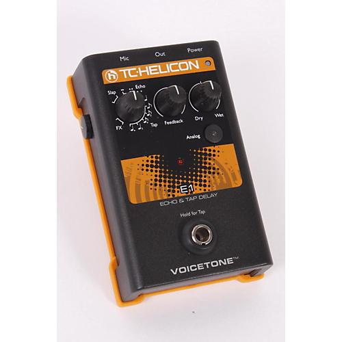TC Helicon VoiceTone Single E1 Echo & Tap Delay  886830728181-thumbnail