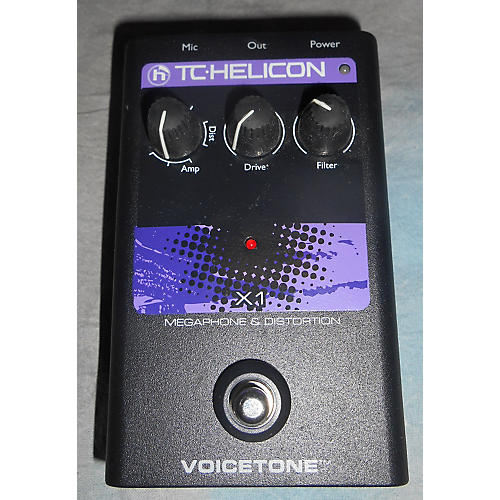 TC Helicon VoiceTone Single X1 Vocal Processor