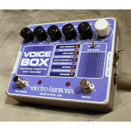 Electro-Harmonix Voicebox Vocal Harmony Vocoder Purple Vocal Processor