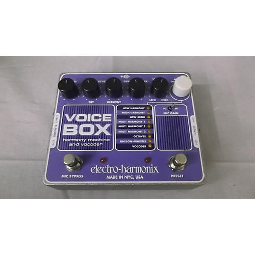 Ehx Voice Box : used electro harmonix voicebox vocal harmony vocoder vocal processor guitar center ~ Hamham.info Haus und Dekorationen