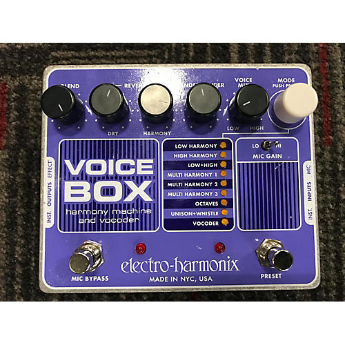 Electro-Harmonix Voicebox Vocal Harmony Vocoder Vocal Processor-thumbnail