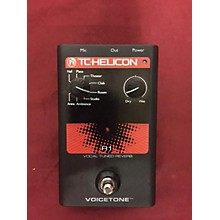 TC Helicon Voicetone Effect Pedal