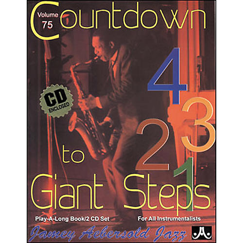 Jamey Aebersold (Vol. 75) Countdown to Giant Steps-thumbnail
