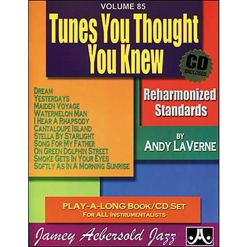 Jamey Aebersold (Vol. 85) Tunes You Thought You Knew-thumbnail