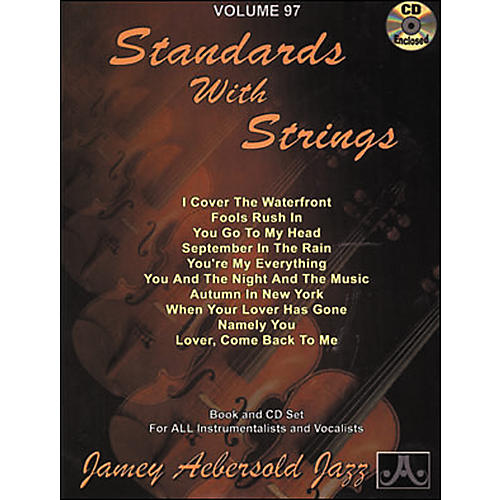 Jamey Aebersold (Vol. 97) Standards with Strings-thumbnail