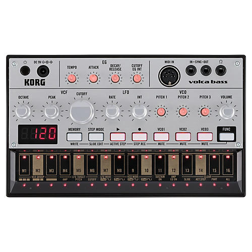 Korg Volca Bass Analog Bass Machine-thumbnail
