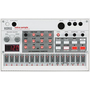 Korg Volca Sample Digital Sample Sequencer by Korg