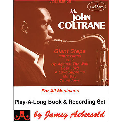 Jamey Aebersold Volume 28 - John Coltrane - Play-Along Book and CD Set