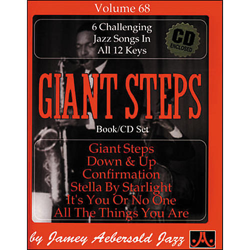 Jamey Aebersold Volume 68 - Giant Steps - Play-Along Book and CD Set