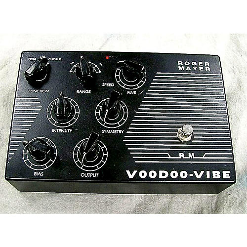 Roger Mayer Voodoo Vibe Effect Pedal-thumbnail