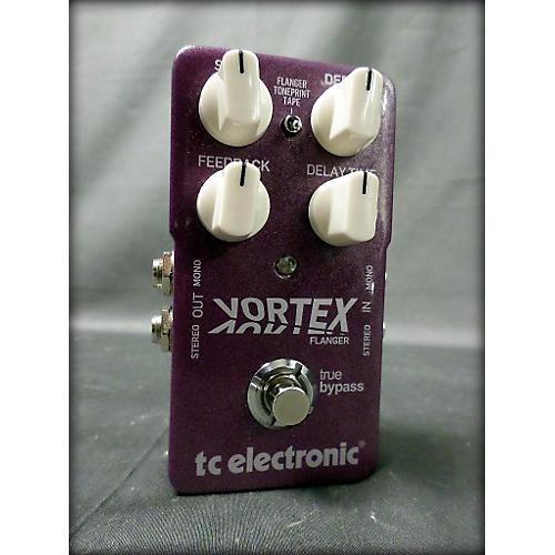 TC Electronic Vortex Flanger Effect Pedal-thumbnail