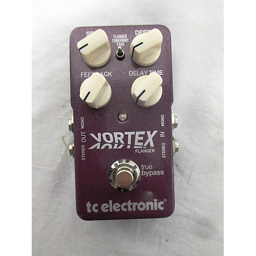 TC Electronic Vortex Flanger Effect Pedal
