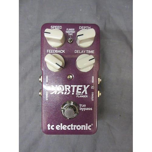 TC Electronic Vortex Flanger Purple Effect Pedal-thumbnail