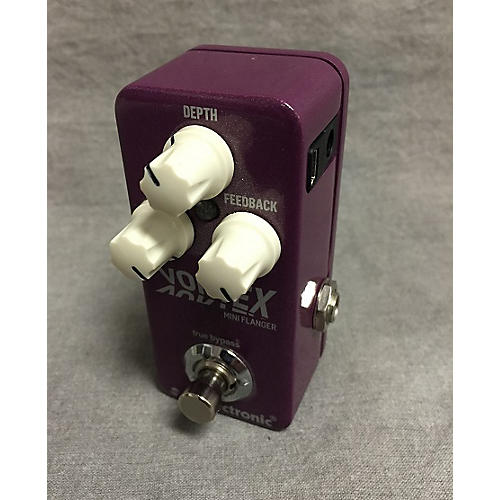 TC Electronic Vortex Mini Flanger Effect Pedal-thumbnail