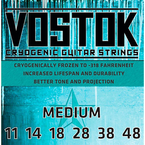 Everly Vostok 9711 Cryogenic Medium Gauge Electric Guitar Strings