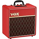 Vox AC4 1x10 Classic Red Limited Edition Tube Guitar Combo Amp (AC4C1RD)