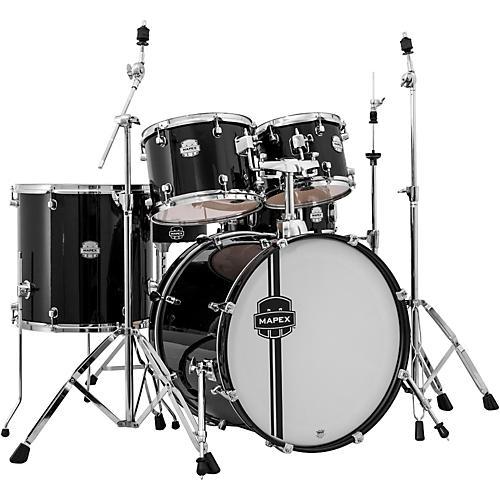 Mapex Voyager 5-Piece Drum Set Black