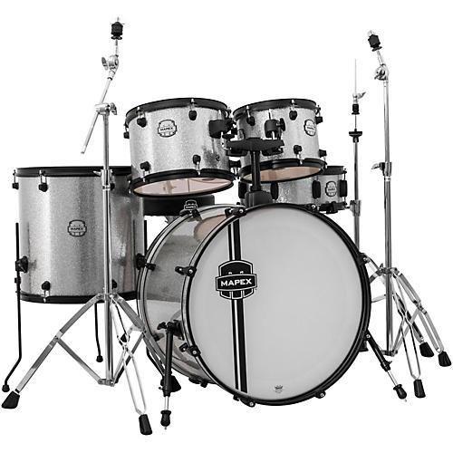 Mapex Voyager Rock 5-Piece Drum Set with Black Hardware