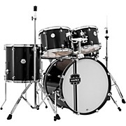 Voyager Standard Drum Set Black