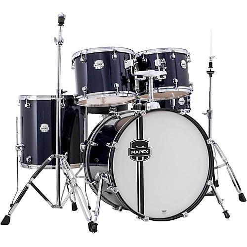 mapex voyager standard drum set royal blue guitar center. Black Bedroom Furniture Sets. Home Design Ideas
