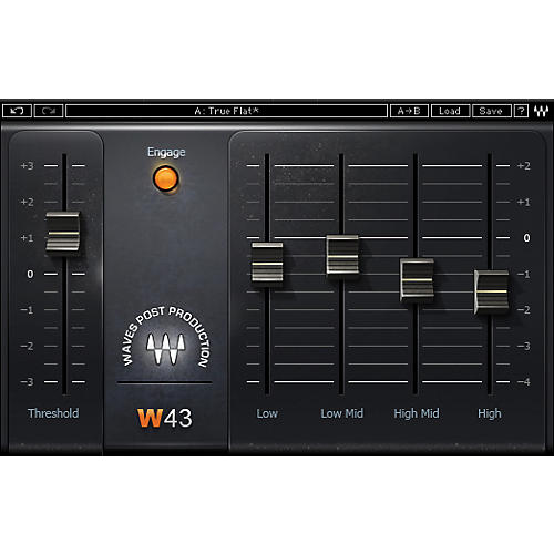 Waves W43 Noise Reduction Plugin Native/TDM/SG Software Download