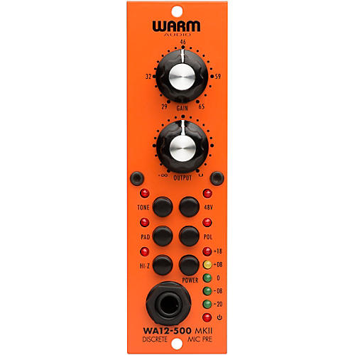 Warm Audio WA-12-500 MK2 500 Series Microphone Preamp