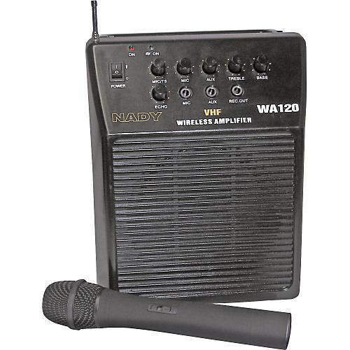 Nady WA-120 Portable PA System with Wireless Handheld Mic-thumbnail
