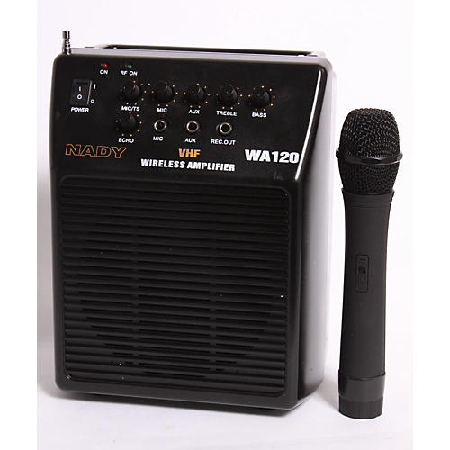 Nady WA-120 Portable PA System with Wireless Handheld Mic-thumbnail
