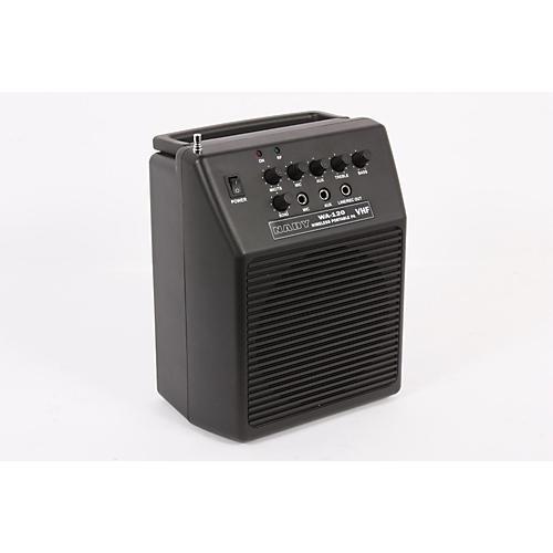 Nady WA 120 Portable PA System with Wireless Omni-Lavalier Mic Band G1 888365187303