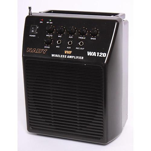Nady WA 120 Portable PA System with Wireless Omni-Lavalier Mic