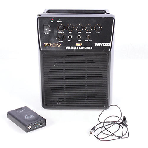 Nady WA 120 Portable PA System with Wireless Omni-Lavalier Mic-thumbnail