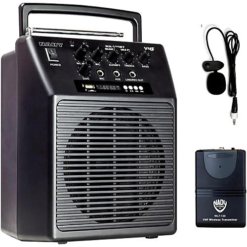 Nady WA-120BT LT Portable Wireless PA System Band N