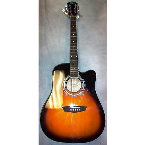 Washburn WA90CE Acoustic Electric Guitar-thumbnail