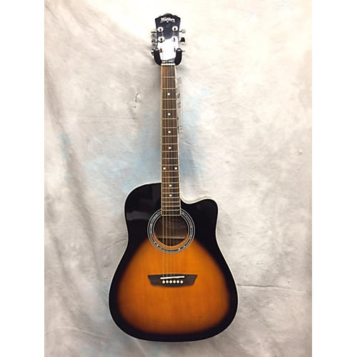 Washburn WA90CE Acoustic Electric Guitar-thumbnail